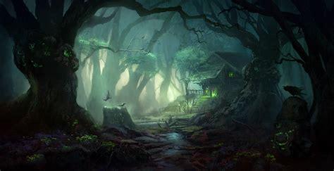 artstation mystic forest giao nguyen