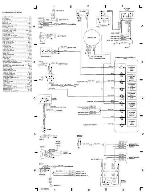1992 jeep wrangler wiring harness diagram get free image