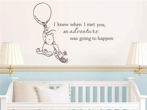 Classic Winnie The Pooh Wall Decals For Nursery Unavailable Listing On Etsy