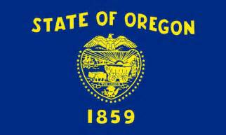 oregon state colors oregon state flag and seal u s states flag seal