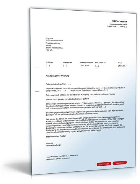 Musterschreiben Angebot Absage Vordruck K 252 Ndigung Mietvertrag K 252 Ndigung Vorlage Fwptc