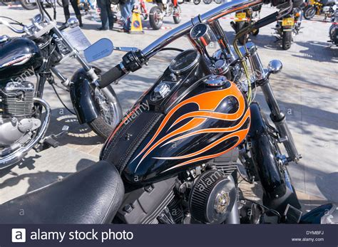 Custom Paint Harley Davidson Motorcycles by Custom Paint Design On Harley Davidson Motorcycle Fuel