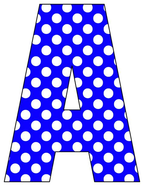 printable letters blue printable cut out letters a z