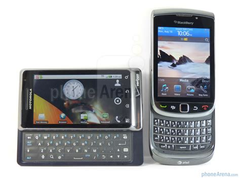 motorola droid 2 vs blackberry torch 9800 phonearena