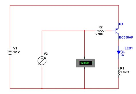 pnp transistor as switch circuit the answer is 42 how do you use pnp transistors
