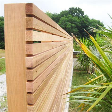 brise vue bois 222 palissade brise vue en c 232 dre par l atelier etienne