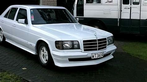 W126 Tieferlegen by Mercedes W126 Amg Manual 4 Speed Snow White