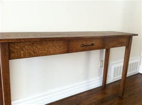 stickley sofa table sofa table with centennial stickley finish by gusg
