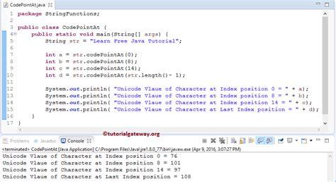 java pattern unicode case exle java codepointat method