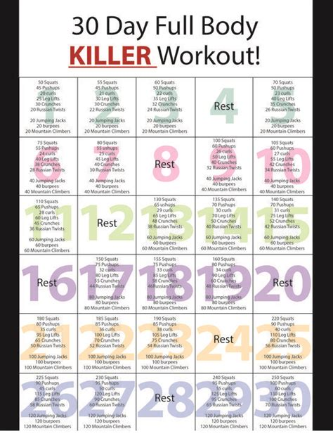 at home work out plan 25 best ideas about home workout schedule on pinterest