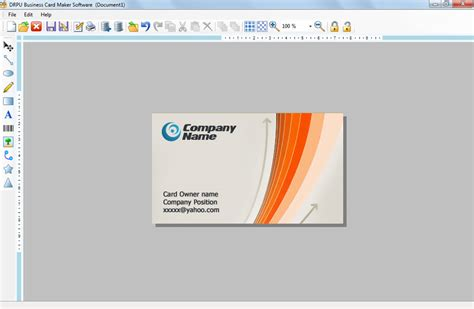 business creator business card designs software visiting corporate security