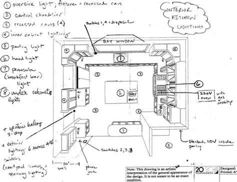 layout lighting plan 10 lessons learned from building a kitchen centsational girl