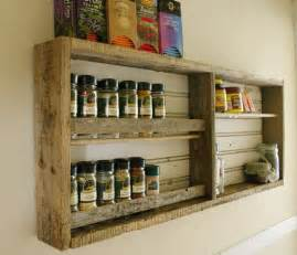rustic kitchen reclaimed wood spice rack the kitchn
