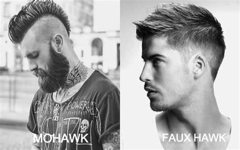 faux hawk haircuts  men    trend spotter