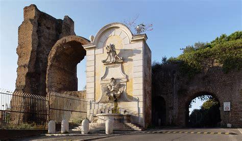 porta furba quadraro acquedotti romani fuori porta maggiore al tuscolano