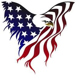 tattered american flag art wesharepics