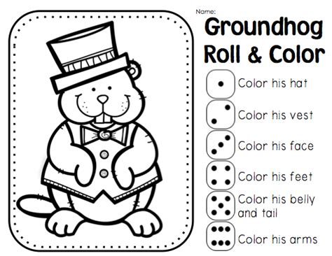 groundhog day kindergarten worksheets grade groundhog day teaching ground