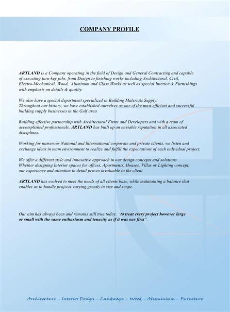 mechanical design company profile artland interior design contracting company