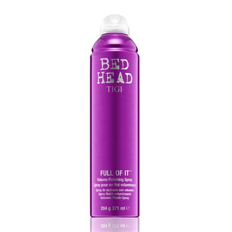 bed head hair spray haircare review b a photos tigi bed head fully loaded