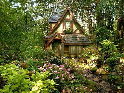 tiny forest cottage image 4376236 by derek ye on favim com