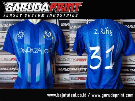 desain baju futsal biru desain baju futsal warna biru sebagai seragam untuk tim