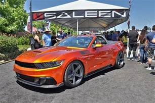 Black Saleen Mustang Fabulous Fords Forever Is The Ultimate Car Show For Any Ford Lover