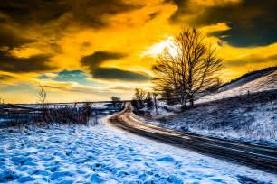 Landscape Pictures How To Painting Winter Landscape Free Stock Photo