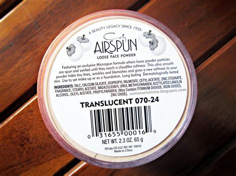 Bedak Airspun every post has its own story review coty airspun