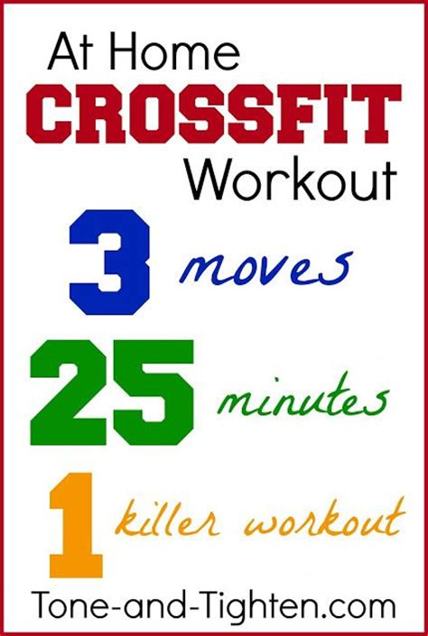 56 best images about crossfit at home workouts on