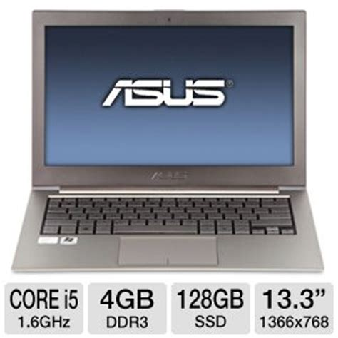 Laptop Asus Ultrabook I5 asus zenbook asus zenbook refurbished ultrabook 2nd
