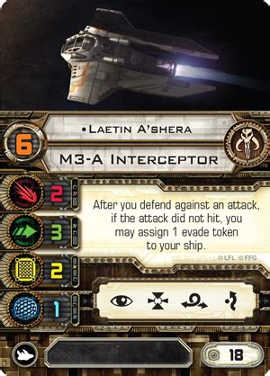 X Wing Card Template by Intercept And Destroy Flight