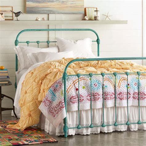 Turquoise Bed Frame Beds And Headboards Everything Turquoise