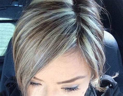 grey hair 2015 highlight ideas 25 best cover gray hair ideas on pinterest gray hair