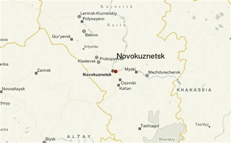 russia kemerovo map novokuznetsk location guide