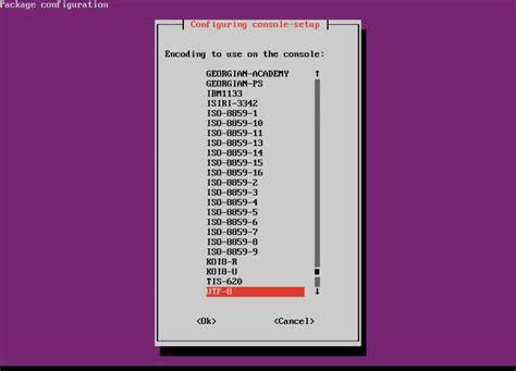 ubuntu console how to change console fonts in ubuntu server