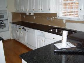 Black Countertop Kitchen Black Kitchen Countertop Capitol Granite