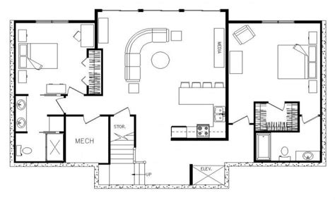 Rectangular House Plans by Rectangular Ranch House With 3 Car Garage Rectangular