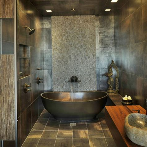 Bathroom Redesign Ideas by Bathroom Tiles With Metallic Accents Modernize Your