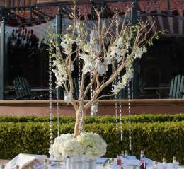 manzanita tree branches wedding centerpieces