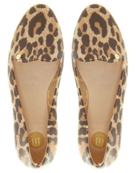 cheetah slippers virtue leopard slipper shoes lyst