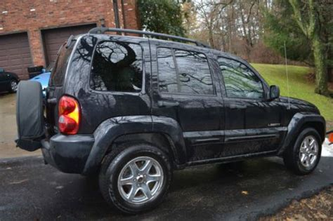 Jeep Liberty Tires Sell Used 2004 Jeep Liberty Limited 4x4 Black Leather New