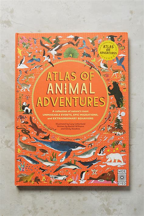 atlas of animal adventures 1847807925 atlas of animal adventures anthropologie