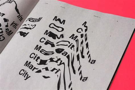 typography book design chicago zine the book design