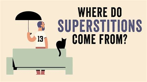 where does come from where do superstitions come from stuart vyse
