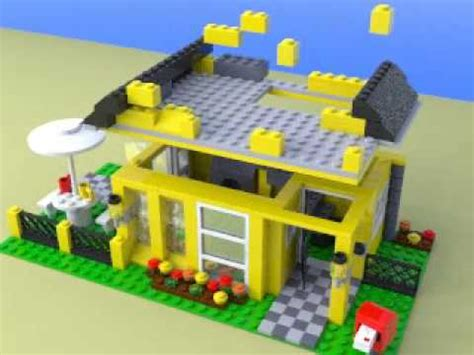 Lego 4996 Beach House Youtube Lego House 4996