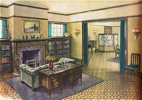 distinctive house design and decor of the twenties 1920s living rooms a gallery on flickr