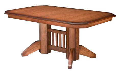 mission style dining room table new furniture store offers finely crafted amish furniture