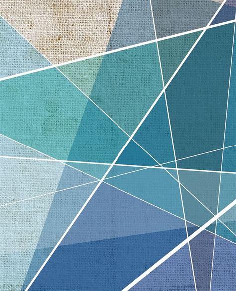 blue vinyl wallpaper geometric vinyl wallpape cuttings by glamora design pg