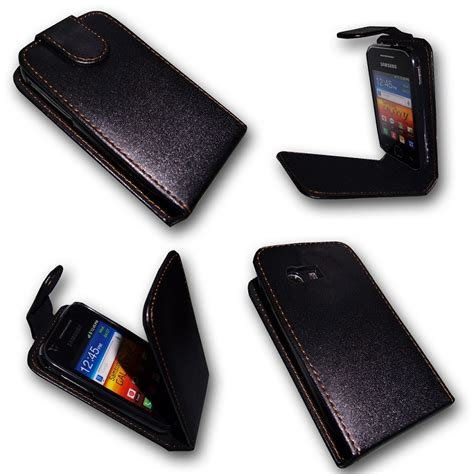 Casing Hp Samsung Gt S5360 Handy Tasche Etui Flip F 252 R Samsung Galaxy Y Gt S5360 Handytasche H 252 Lle Ebay