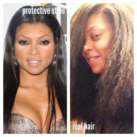 before and after full weave growth underneath beauty hair celebrities that can prove hair growth is